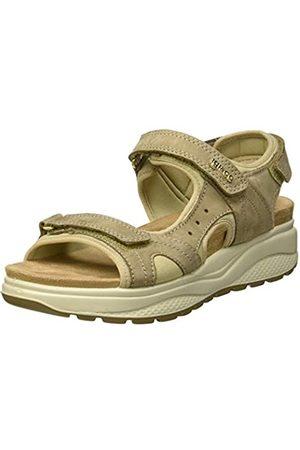 IGI&CO Women's DEZ 31684 Platform Sandals, (Tortora 3168433)