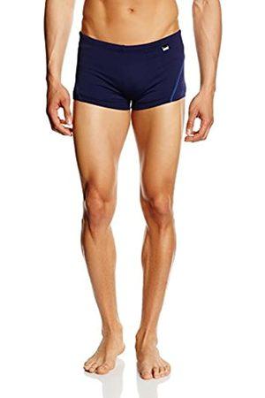 Hom Men's Sport Swim Shorts (Shorty de bain Lycra) Boy, -Bleu (Marine/Passepoil Bleu)