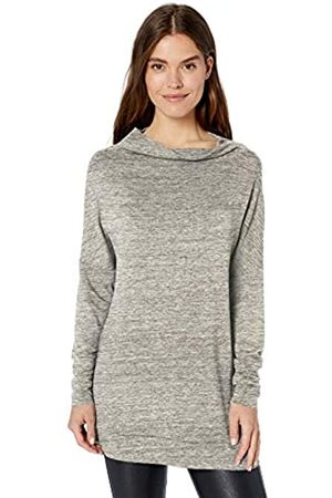 Daily Ritual Supersoft Terry Modern Funnel-Neck Tunic Shirt