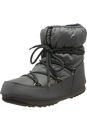 Moon-boot Snow Boots - Unisex Adults Low Nylon Wp Snow Boots, (Grigio 006)
