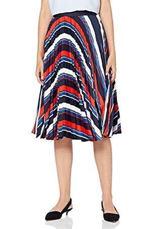 Gant Women's D1. Preppy Stripe Pleated Skirt
