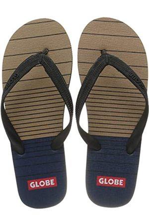 Globe Men's Indie Beach & Pool Shoes, (Tan/Navy 16320)