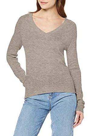 Vero Moda Women's Vmhappy Ls Overlap V-Neck Blouse Boo Jumper