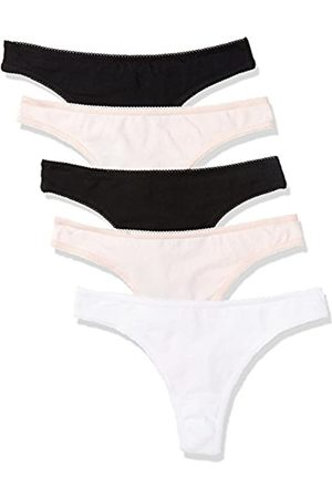 Iris & Lilly Women's Thong Elastic and Trim Thigh