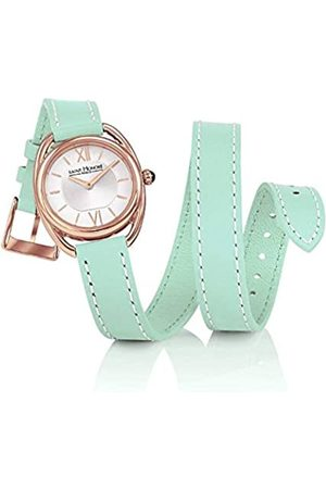 Saint Honore Women's Analogue Quartz Watch with Leather Strap 7215268AIR-G