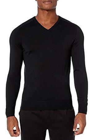 Peak Velocity Amazon Brand - V-neck Merino Sweater