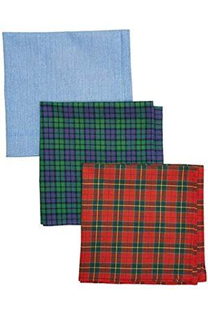 Hackett Hackett Men's 3 Pacsks Tartan Handkerchiefs