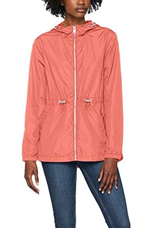 Tommy Jeans Damen Essential Jacke Rosa (Spiced Coral 689) X-Large