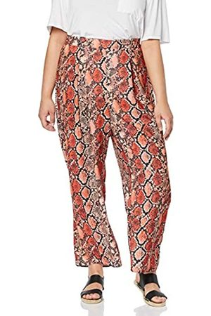 Dorothy Perkins Curve Women's Palazzo Trouser Snake Print