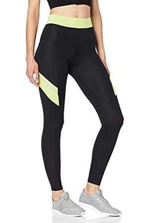 AURIQUE Amazon Brand - Women's Colour Block Sports Leggings, 12