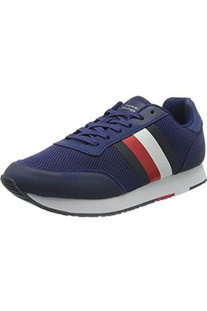 Tommy Hilfiger Men's Corporate Material Mix Runner Low-Top Sneakers, ( Ink C7h)