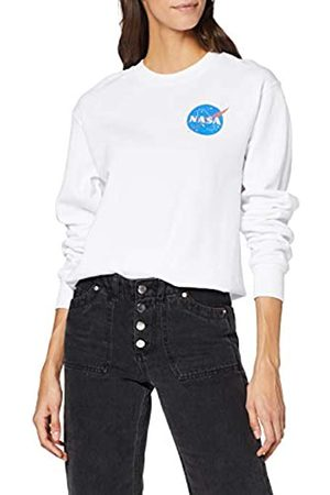 Brands In Limited Women's NASA Insignia Logo Pocket Sweatshirt