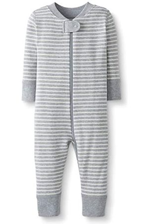 Moon and Back by Hanna Andersson Moon and Back One Piece Footless Pajamas Sleepers, Gray