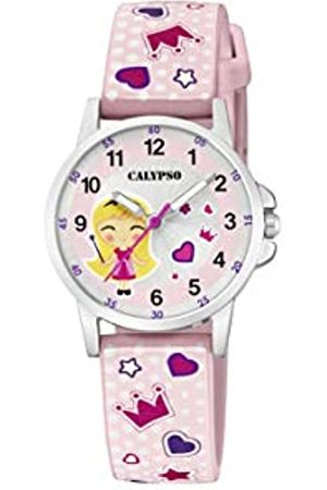 Calypso watches Unisex Child Analogue Classic Quartz Watch with Plastic Strap K5776/2