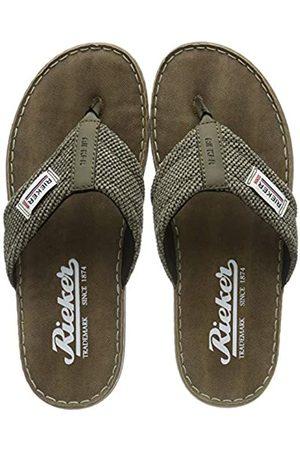 Rieker Men's 21089-26 Flip Flops, (Brasil/Fango 26)