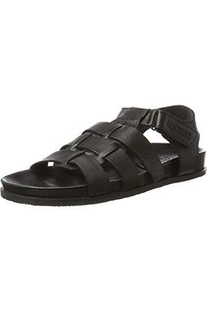 Dockers by Gerli 40cd003-100100, Men's Open Toe Sandals, (Schwarz 100)