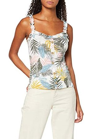Dorothy Perkins Women's Palm Butn THR Vest Top