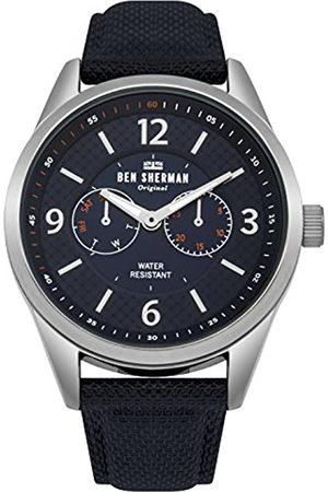 Ben Sherman Mens Multi dial Quartz Watch with Nylon Strap WB069UU