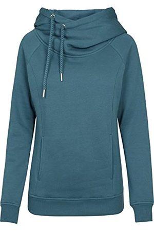 Urban Classics Women's Ladies Raglan High Neck Hoody Hooded Sweatshirt