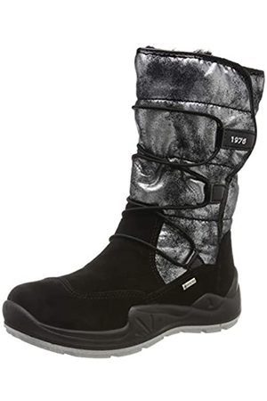 Primigi Girls' Pwi Gore-tex 43808 Snow Boots, (Nero/Antracite 4380800)