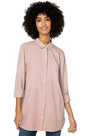 Goodthreads Washed Oxford Long-sleeve Button-front Shirt Heather