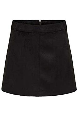 ONLY Women's Onllinea Faux Suede Bonded Skirt Cc OTW