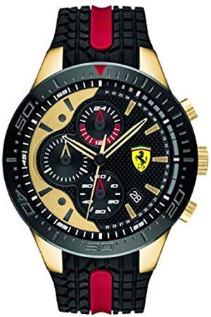 Scuderia Ferrari Mens Chronograph Quartz Watch with Silicone Strap 0830593