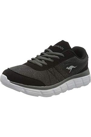 KangaROOS Women's Kr-ref Low-Top Sneakers, (Jet /Steel 5003)
