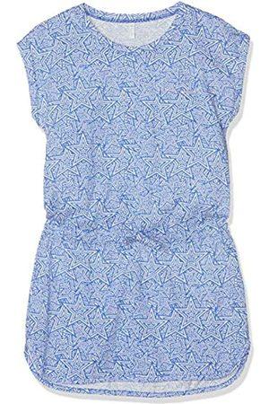 Sanetta Girl's Beach Dress Cover Up, (Azure)