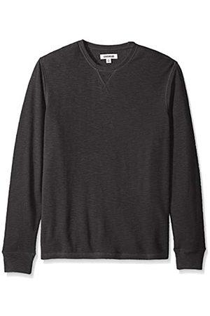 Goodthreads Amazon Brand - Men's Long-sleeve Slub Thermal Crewneck T-Shirt