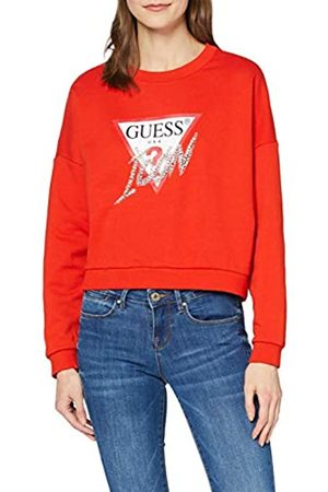 Guess Women's Icon Fleece Hooded Sweatshirt