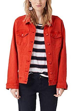 s.Oliver Women's 14.904.51.2312 Jacket, (Brick Denim Stretch 26Z4)