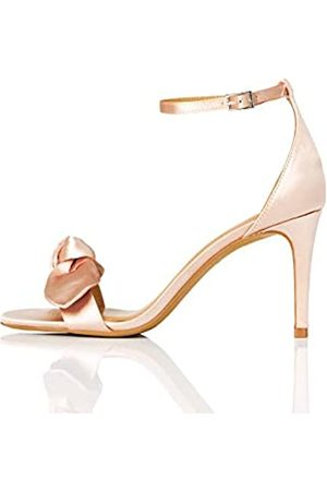 TRUTH & FABLE Women's Bridesmaid Ankle Strap Sandals