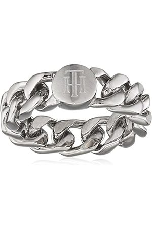 Tommy Hilfiger Women's Stainless-Steel Chain Ring - Size C