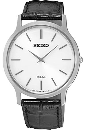 Seiko SUP873P1 Mens Leather Strap Watch