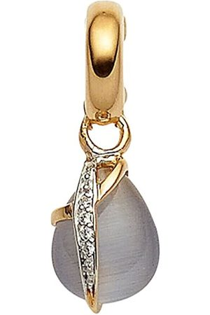Viventy Women's Charm Gold-Plated Rhodium-Plated White Zirconia - 767012