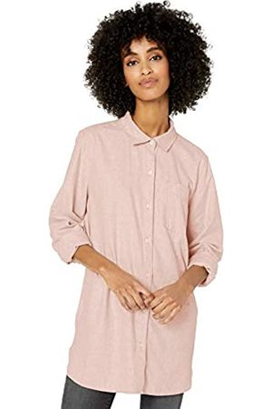 Goodthreads Solid Brushed Twill Long-sleeve Button-front Shirt Heather