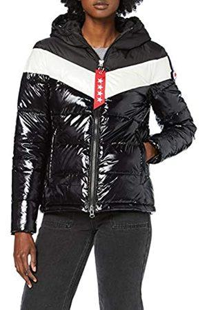 Invicta Women's Giubbino Ski Glossy Bicolor Coat