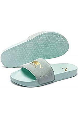 Puma Unisex Adults' Leadcat Suede Beach & Pool Shoes, (Fair Aqua Team )