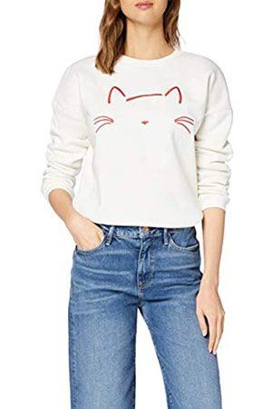 Mavi Women's Cat Embroidered Sweatshirt