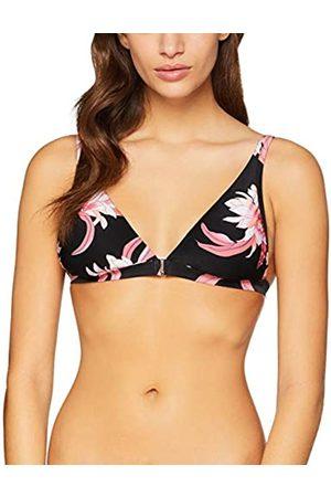 Seafolly Women's Desert Flower Fixed Longline Tri Bikini Top