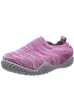 Playshoes Unisex Kid's Knitted Anti-Slip Shoes Slippers, ( 18)