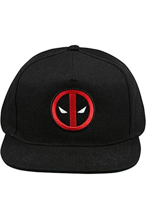 Marvel Men's Deadpool Logo Flat Cap