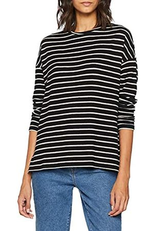 Dorothy Perkins Women's Mono Stripe top Blouse