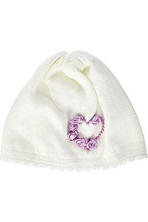 Döll Baby Girls' Topfmütze Strick Hat, Snow 1050
