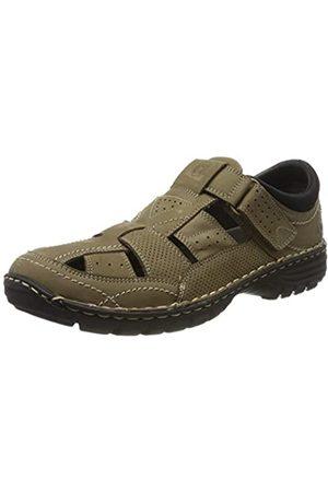 Coronel Tapiocca Men's T-Bar Shoes, (NOBUCK TAUPE (KAKI) 0)