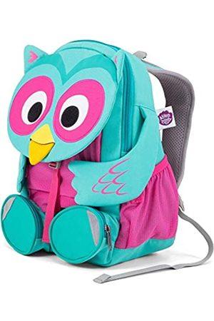 Affenzahn Large Friend Olina Owl Turquoise Children's Backpack, 31 cm