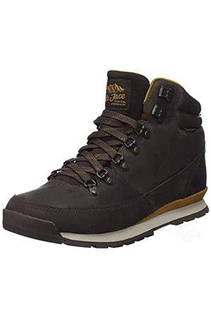 THE NORTH FACE Men's Back-to-Berkeley Redux Leather High Rise Hiking Boots, (Chocolate /Golden 5sh)