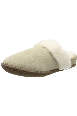 Sorel Girl's Slippers, Youth Nakiska Slide II, (British Tan/Natural)