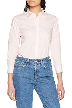 Tommy Hilfiger Women's Haria Dobby Shirt Ls W2 Plain Regular Fit Long Sleeve Blouse